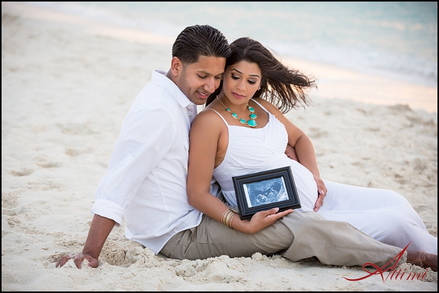 the miracle of life maternity shoot turks amp caicos